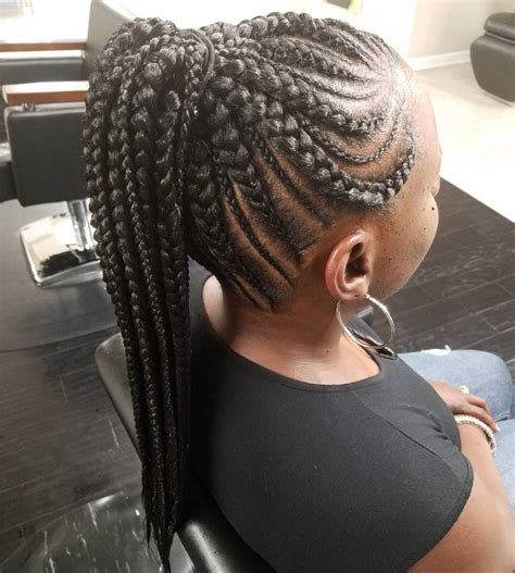 braided in 31 ghana braids styles for trendy protective looks