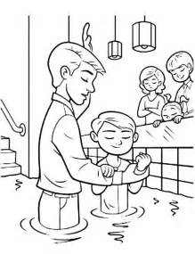 baptism coloring pages baptism ordinances of salvation coloring pages best