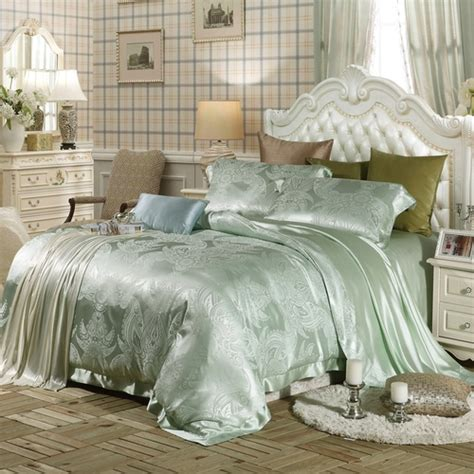 silk crib bedding set luxury turquoise silk bedding sets sale for lilysilk