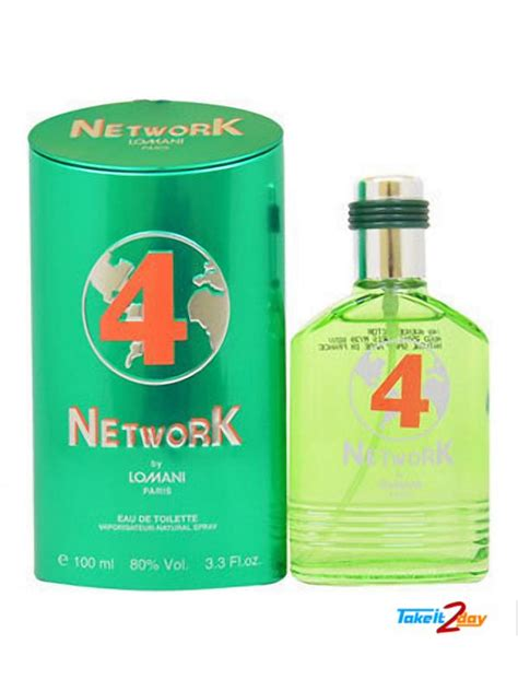 lomani network 4 perfume for 100 ml edt