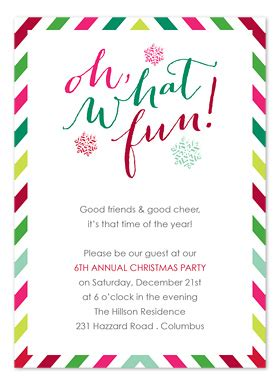 wording for employee holiday luncheon festive invitations by invitation consultants ic 2133