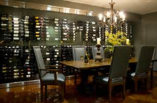 Dining Room Wine Racks by Built In Wine Rack Dining Room Ambiance