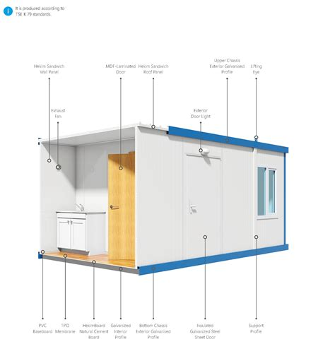 section container container system prefabricated solutions