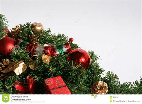 images of christmas greenery christmas greenery and baubles royalty free stock image