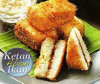 cara membuat kue kering abon resep makanan ketan abon ikan resep bahan masakan