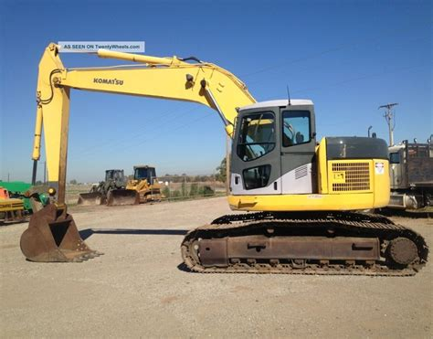 zero tail swing excavator komatsu pc228us lc excavator track hoe zero tail swing new