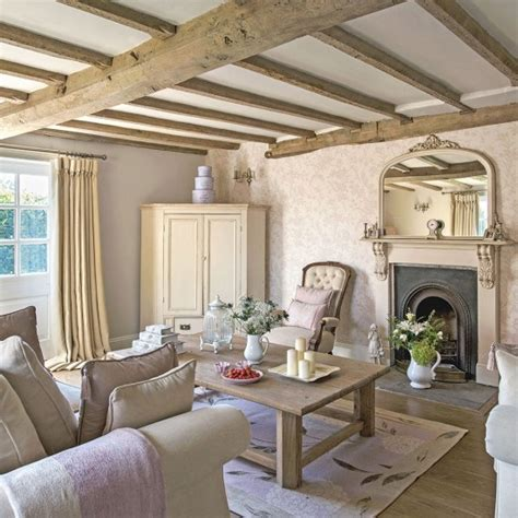 cottage livingrooms regency country cottage living room with exposed beams