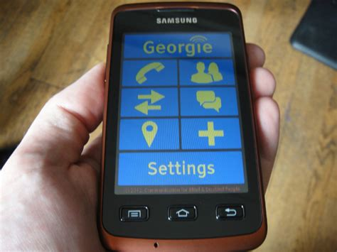 Cheap Blings For Mobile Phones by Screenreader Georgie On With The Mobile Phone App
