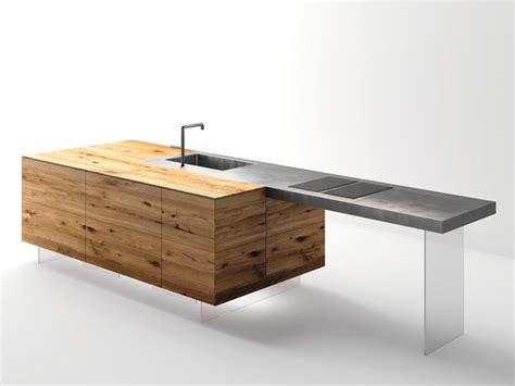 tavoli a penisola top cucina tavolo a penisola in acciaio e legno steel