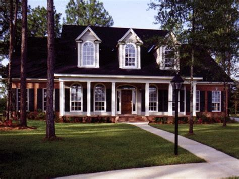 southern style house floor plans southern brick home plans