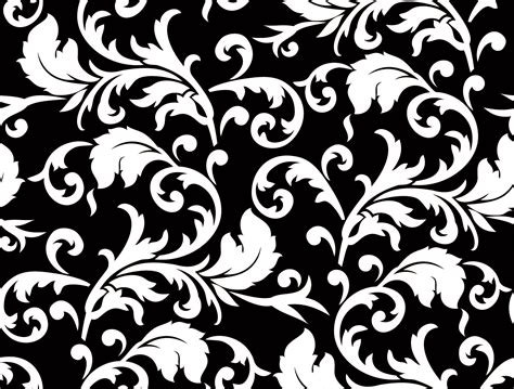 flower pattern design vector black and white floral patterns flower patterns