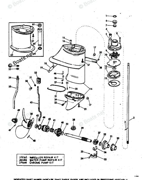 boats net evinrude parts evinrude outboard parts by year 1972 oem parts diagram for