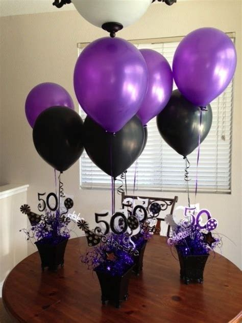 50th birthday decorations uk ideas