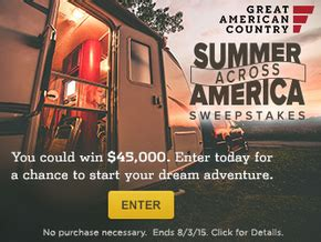 Gac Sweepstakes - gac summer across america sweepstakes win 45 000 sweepstakes in seattle