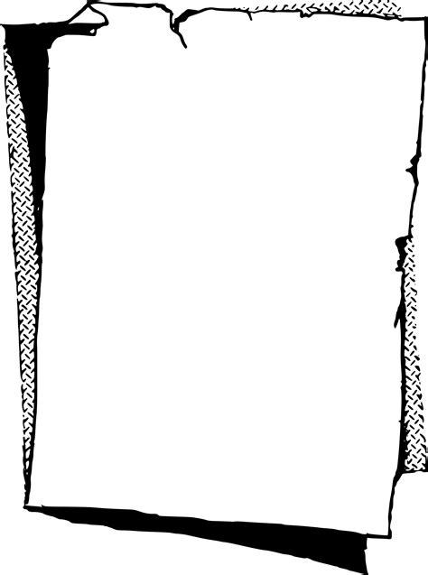 Paper Frame - clipart paper frame