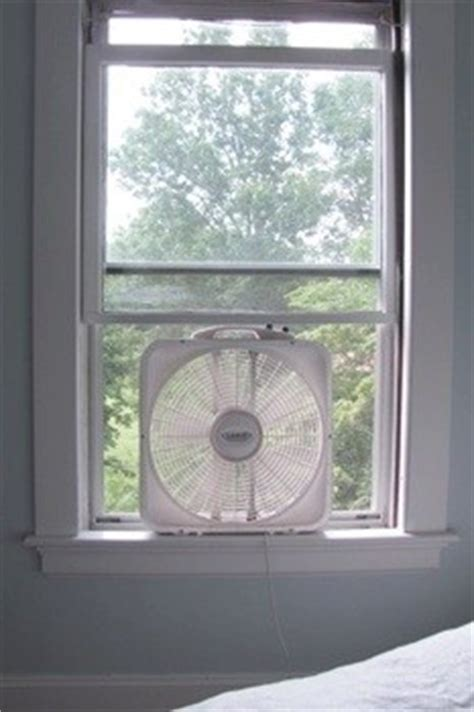 box window fan how to
