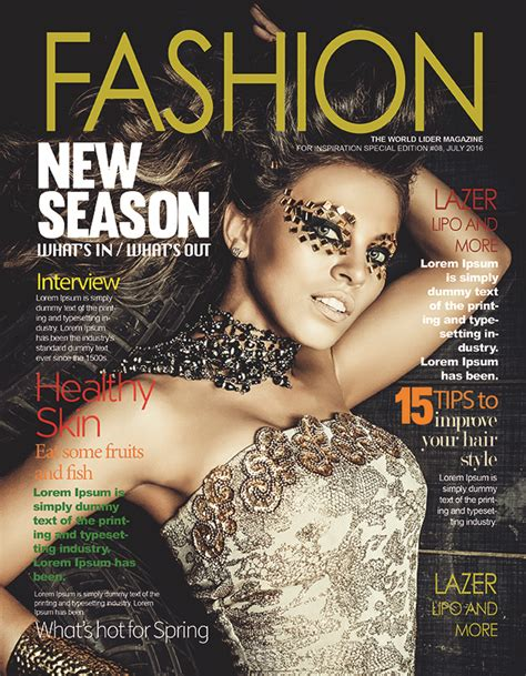 magazine cover layout psd free fashion magazine cover psd template free psd ui