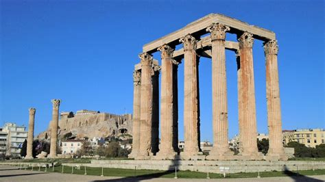 temple of temple of olympian zeus athens