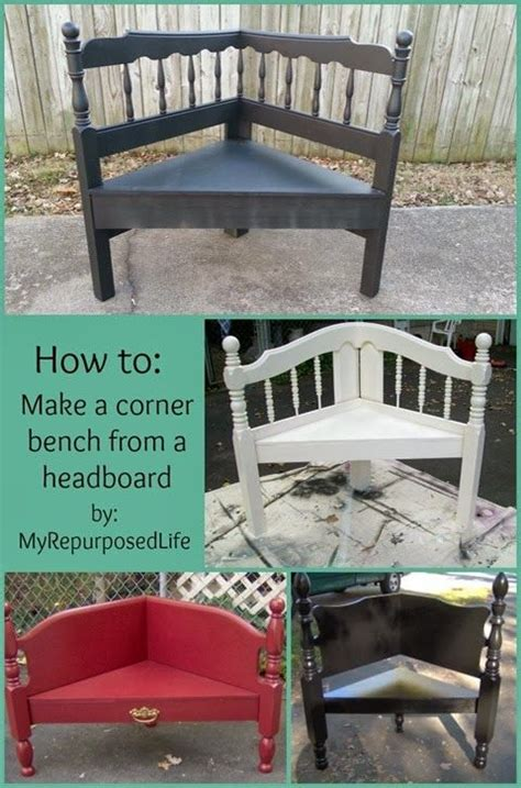 how to make a bench from a headboard corner bench from headboard this can work for a doggie