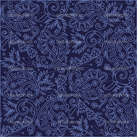 Blue Paisley navy blue paisley wallpaper wallpapersafari