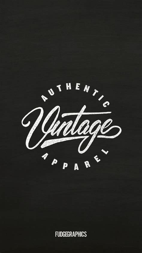 design a retro logo name authentic vintage apparel retro vintage logo design