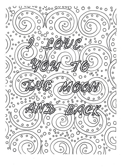 I You And Coloring Pages i you coloring pages inspirational i you to the moon and back coloring page coloring