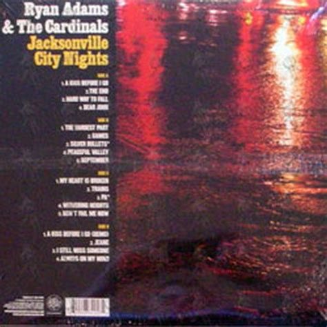 City Of Jacksonville Records Jacksonville City Nights 12 Inch Lp
