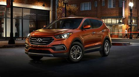 hyundai santa fe 2018 sport 2018 hyundai santa fe sport specs and color options