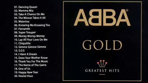 abba the best abba greatest hits the best of abba gold
