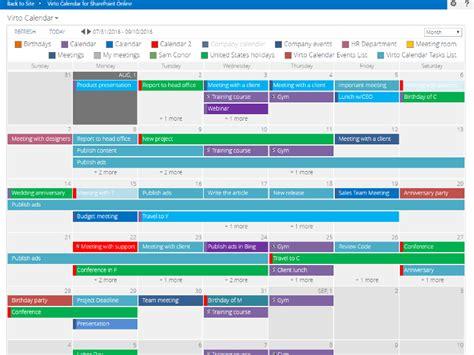 sharepoint calendar template 365 day calendar calendar template 2016