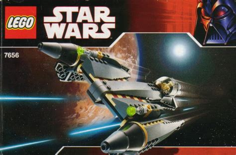 Lego Wars 7656 General Grievous Starfighter for 7656 1 general grievous starfighter bricks argz