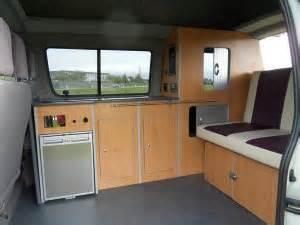 Camper van interior furniture cabinets amp wardrobe unit for transit