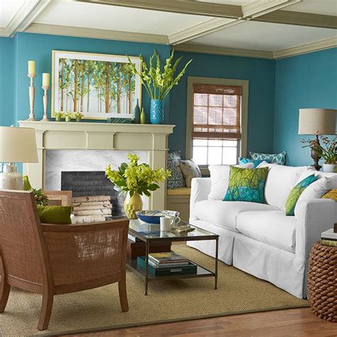 bold living room colors this bold palette unearths the color power of sky water