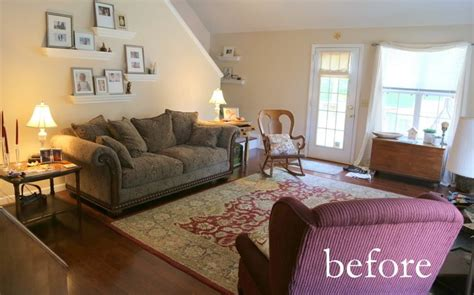 green couch staging updating a dated sofa home staging trick from the