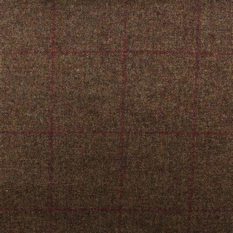 Tweed Upholstery by 100 Scotish Upholstery Wool Woven Tartan Check Plaid