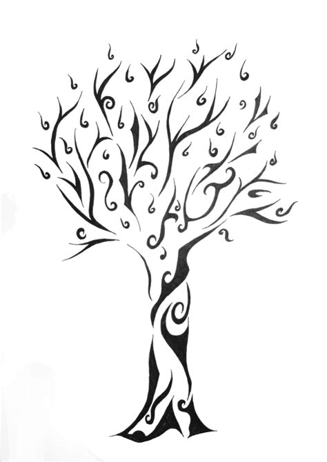 tribal life tattoo liverpool tree of designs tribal tree for a friend by