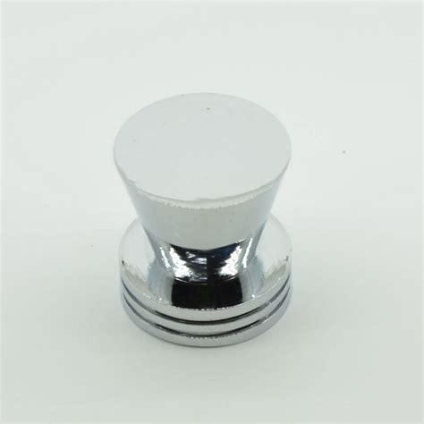 flat top zinc alloy single cabinet knobs and
