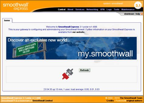 smooth wall distrowatch com smoothwall express