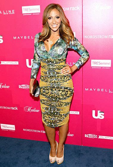 is melissa gorga african american most stylish new yorkers 2013 red carpet pictures
