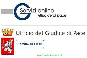 ufficio giudice di pace on line fare ricorso al giudice di pace risparmia in rete