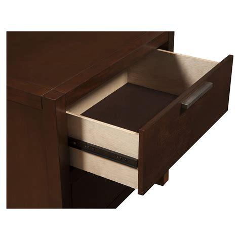 merlot single drawer desk urban 2 drawer nightstand merlot dcg stores