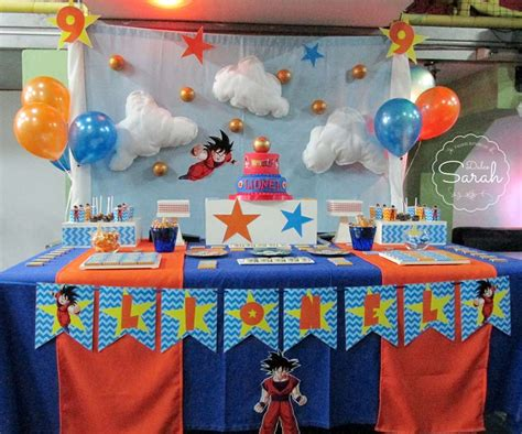 party themes a z dragon ball birthday party ideas photo 2 of 13 catch