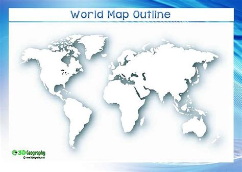 world map template for blank world maps