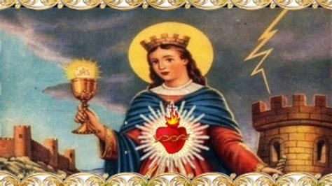 imagenes navideñas santa oracion a santa barbara youtube