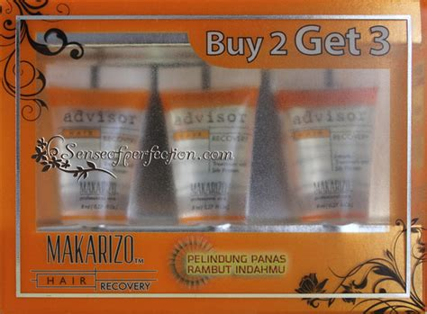 Makarizo Recovery makarizo advisor hair recovery heat protector sense of perfection obesessions beyond words