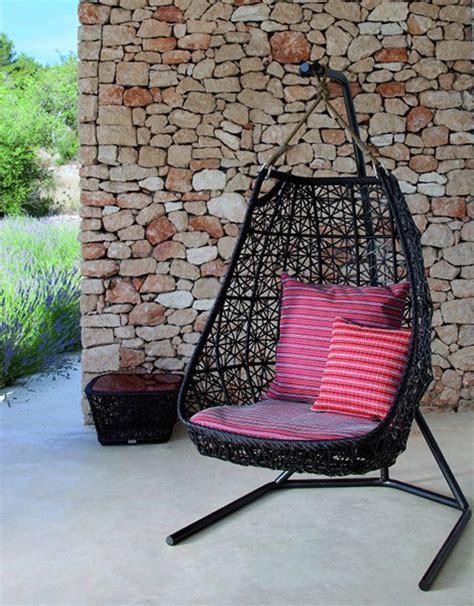 swinging chairs outdoor hanging swing chair patio rattan swing chair by patricia