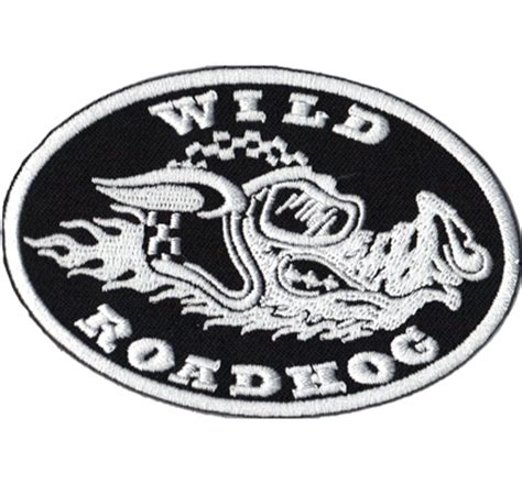 Motorrad Patches Marken by Roadhog Rennsau Motorrad Streetfighter Biker Patch