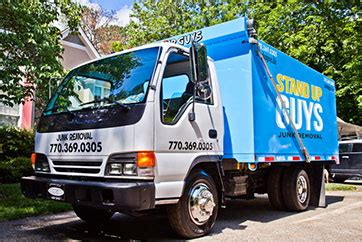 junk removal hauling services stand  guys junk removal