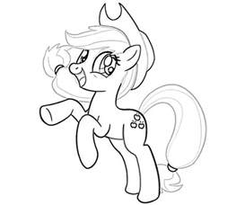 pony coloring coloring
