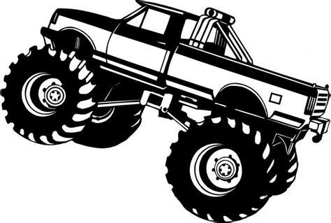 monster trucks clipart monster truck silhouette clipart 2 wikiclipart